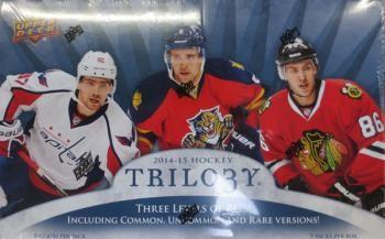 2014/15 Upper Deck Trilogy Hockey Hobby 8 Box Case