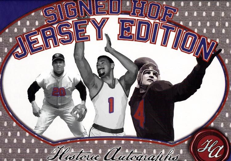 2014 Historic Autographs HOF Jersey ED Box