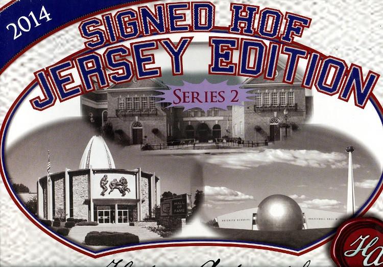 2014 Historic Autographs HOF Jersey Edition Series 2 - 12 Box Case