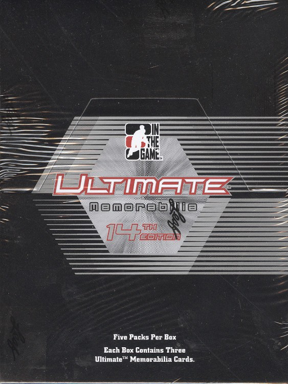 2014 Leaf ITG Ultimate Memorabilia 14th Ed Hockey Box