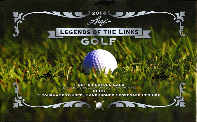 2014 Leaf Legends of the Links Golf 12 Box Case