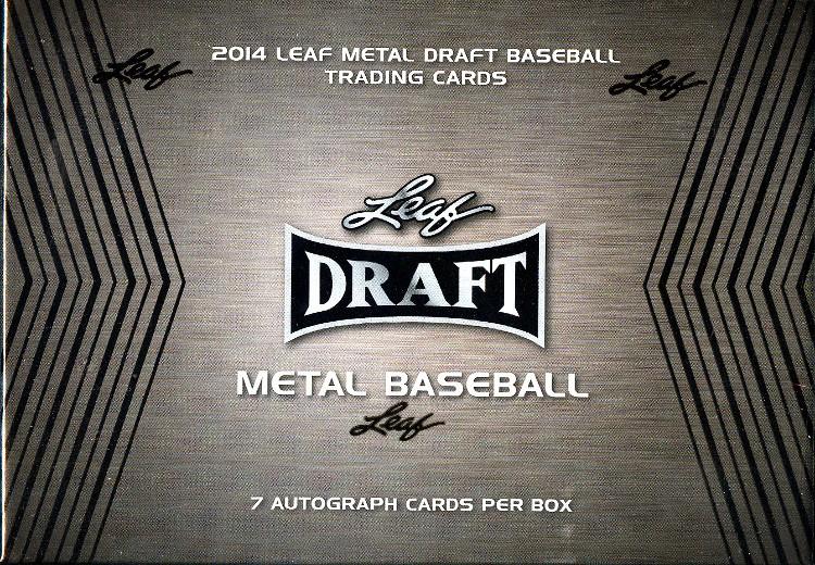 2014 Leaf Metal Draft Baseball Hobby Box
