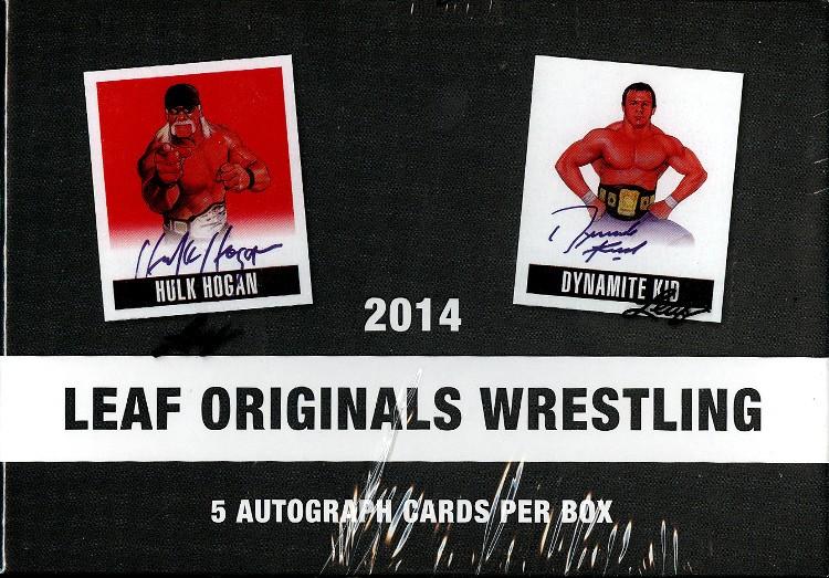 2014 Leaf Originals Wrestling Hobby 12 Box Case