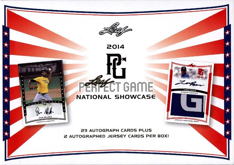 2014 Leaf Perfect Game Showcase Baseball 15 Box Case