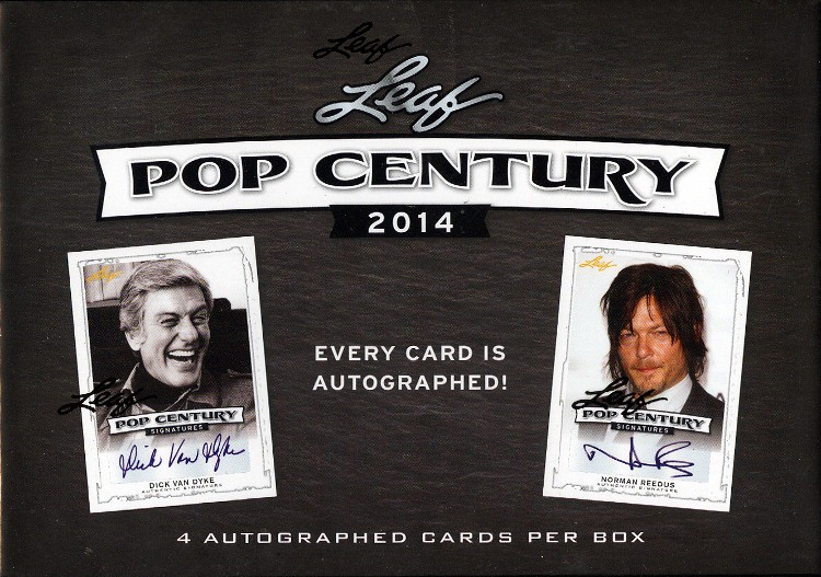 2014 Leaf Pop Century Trading Cards Box