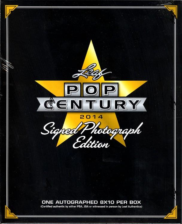 2014 Leaf Pop Century Signed Photograph Ed Box