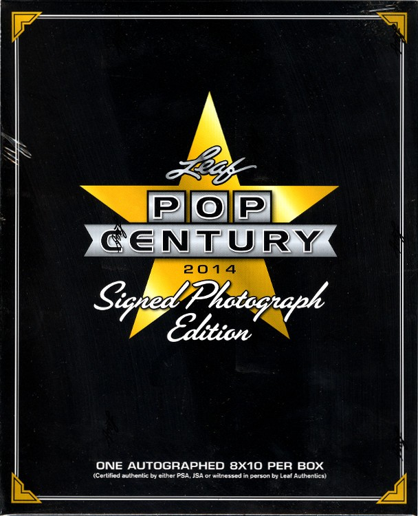 2014 Leaf Pop Century Signed Photograph Ed 12 Box Case