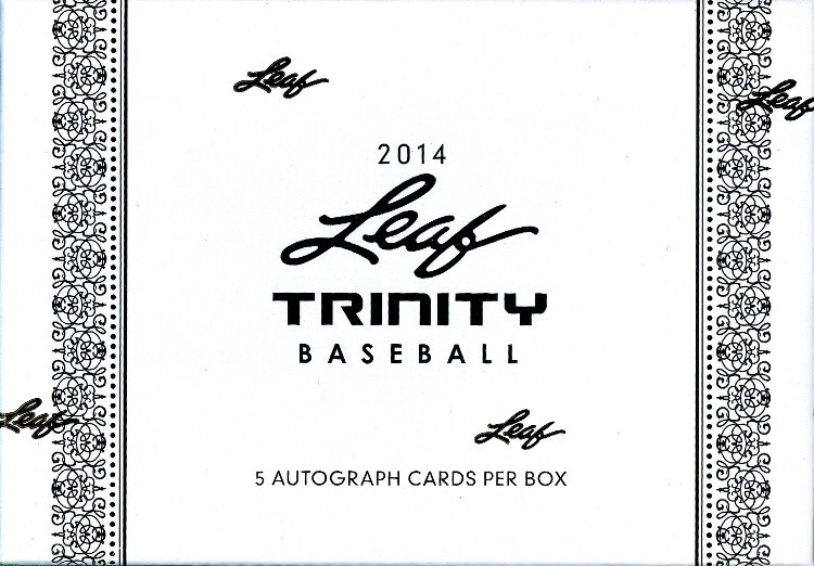 2014 Leaf Trinity Baseball Hobby 12 Box Case