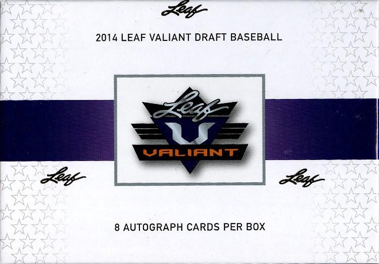 2014 Leaf Valiant Baseball Hobby 12 Box Case