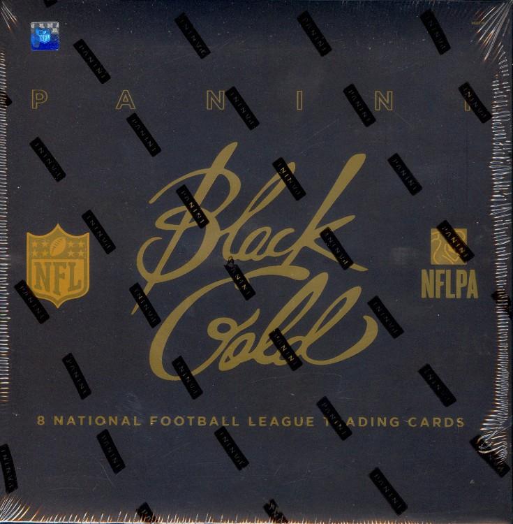 2014 Panini Black Gold Football Hobby 8 Box Case