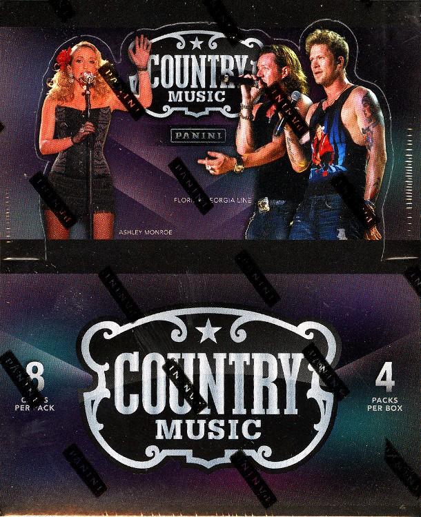 2014 Panini Country Music Hobby Trading Cards Box