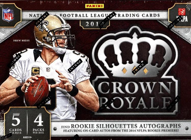 2014 Panini Crown Royale Football Hobby 12 Box Case
