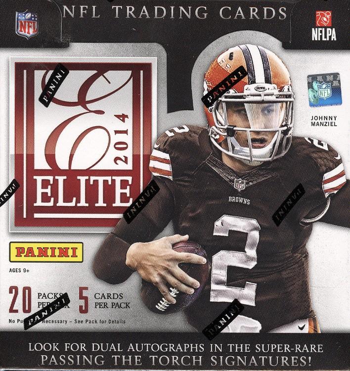 2014 Panini Elite Football Hobby 12 Box Case