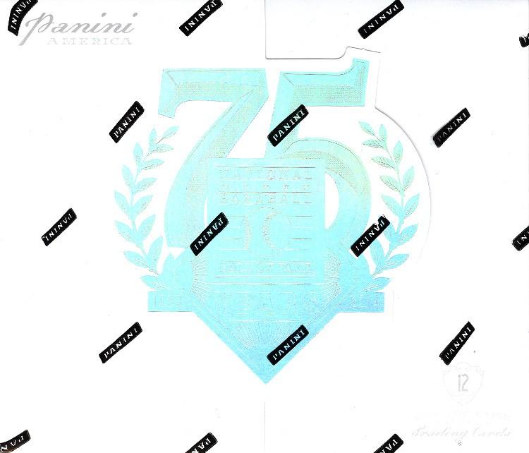 2014 Panini Hall Of Fame 75th Anniv Baseball Hobby 15 Box Case