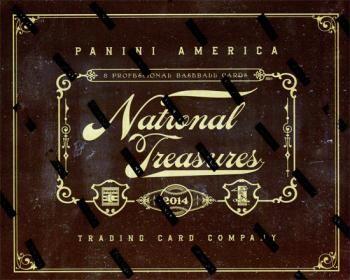 2014 Panini National Treasures Baseball Hobby Box
