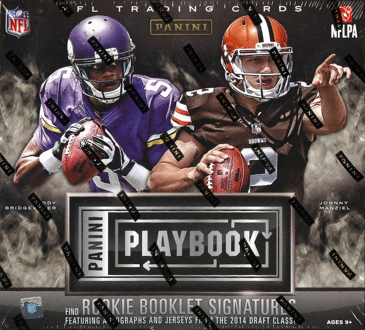 2014 Panini Playbook Football Hobby 15 Box Case