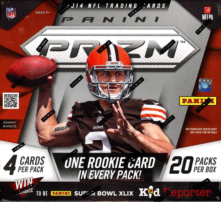 2014 Panini Prizm Football Hobby 12 Box Case