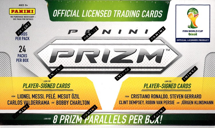 2014 Panini Prizm World Cup Soccer Hobby Box