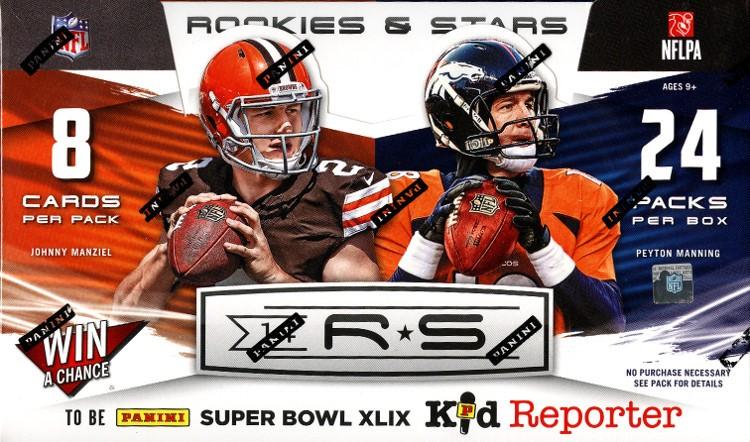 2014 Panini Rookies & Stars Football Hobby 12 Box Case