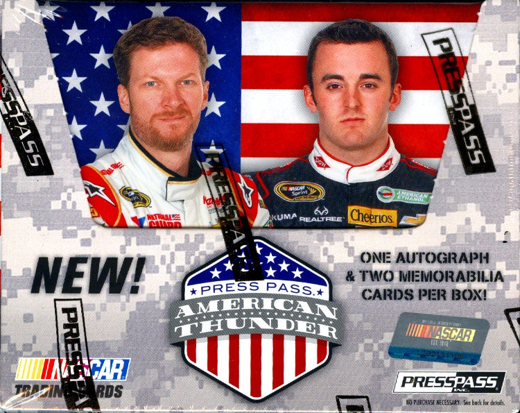 2014 Press Pass American Thunder Racing Hobby 10 Box Case
