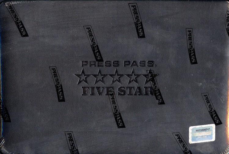 2014 Press Pass Five Star Racing Hobby 3 Box Case