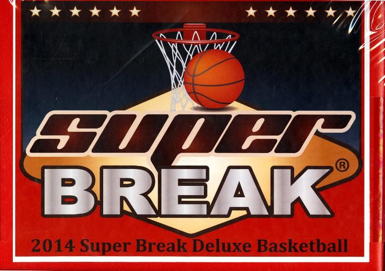 2014 Super Break Basketball Deluxe Ed - Box