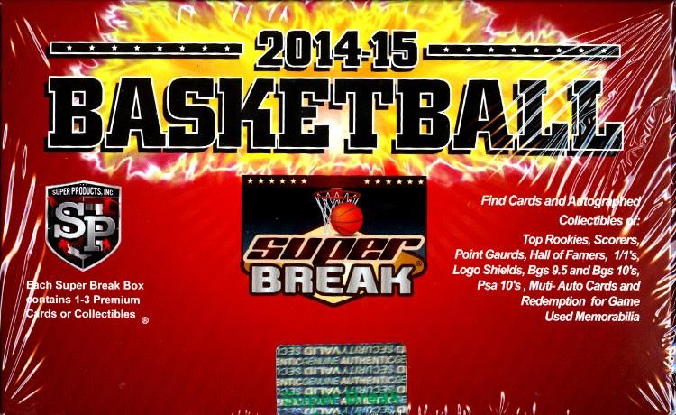 2014/15 Super Break Basketball Series 1 Box