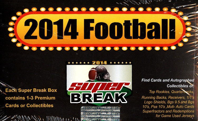 2014 Super Break Football Box