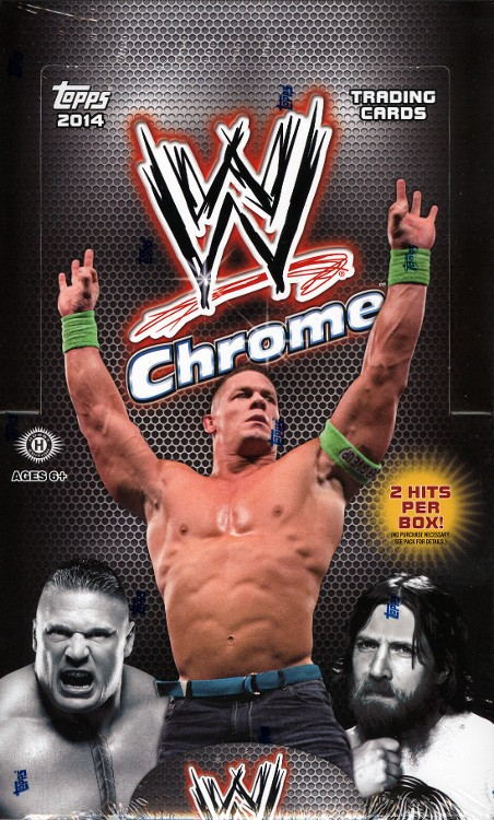 2014 Topps Chrome WWE Hobby Box
