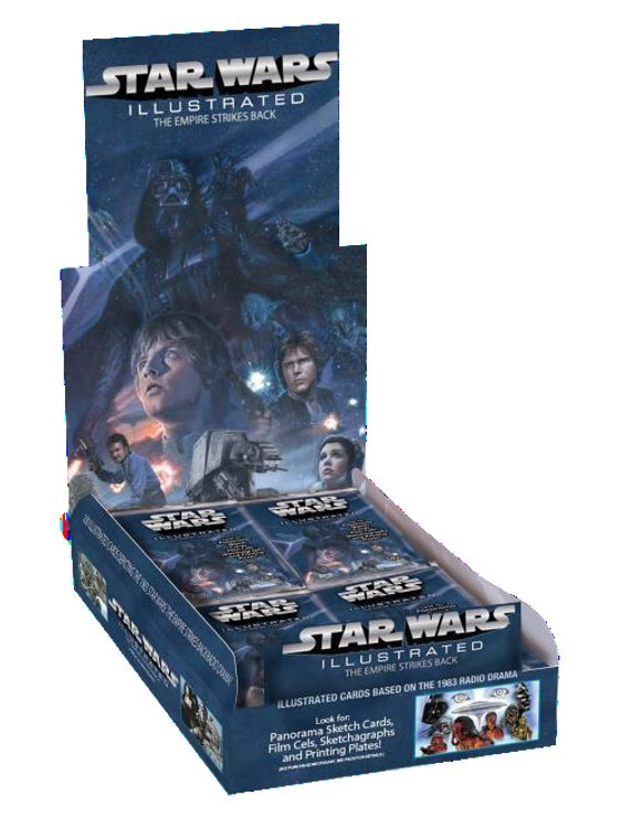 2014 Topps Star Wars Illustrated: The Empire Strikes Back Box