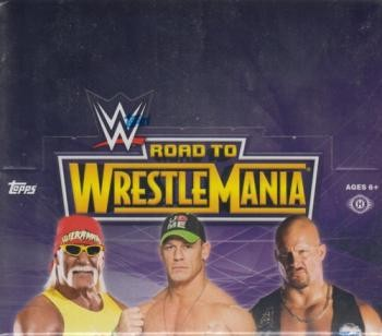 2014 Topps WWE Road To Wrestlemania Hobby 8 Box Case