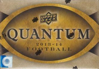 2014 Upper Deck Quantum Football Hobby 6 Box Case