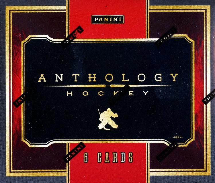 2015/16 Panini Anthology Hockey Hobby 12 Box Case
