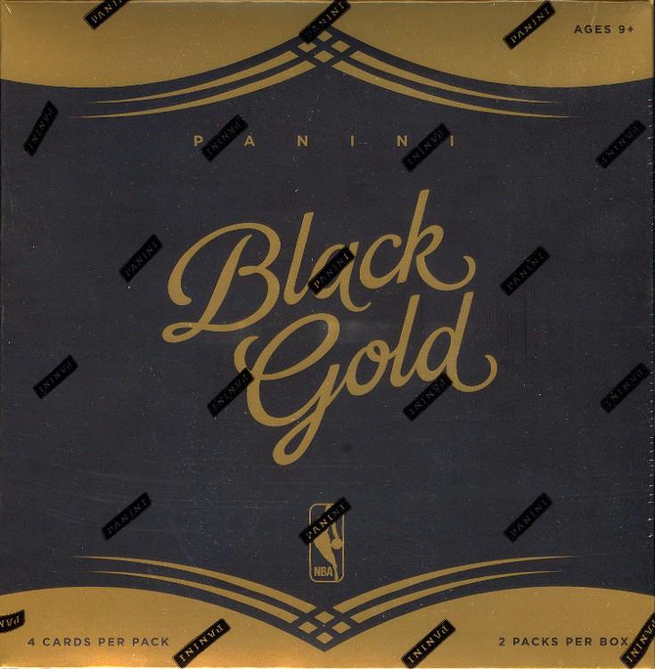 2015/16 Panini Black Gold Basketball Hobby 8 Box Case