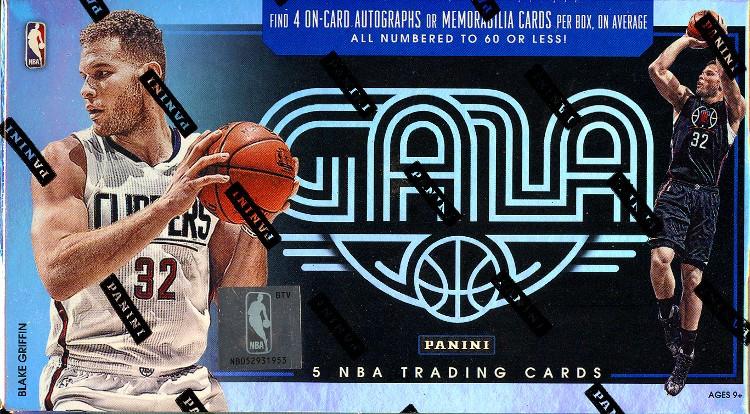 2015/16 Panini Gala Basketball Hobby 8 Box Case