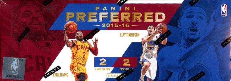2015/16 Panini Preferred Basketball Hobby 8 Box Case
