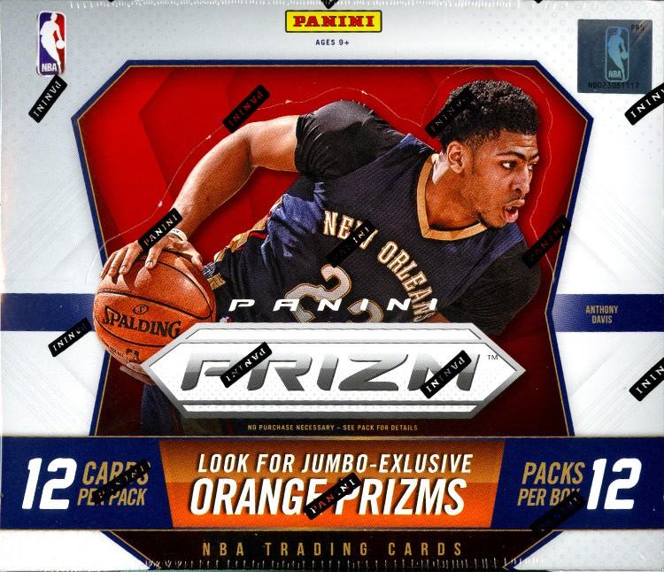 2015/16 Panini Prizm Basketball Jumbo 12 Box Case