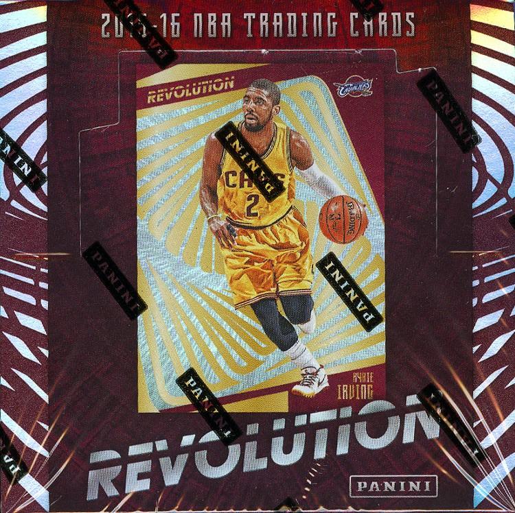 2015/16 Panini Revolution Basketball Hobby 16 Box Case
