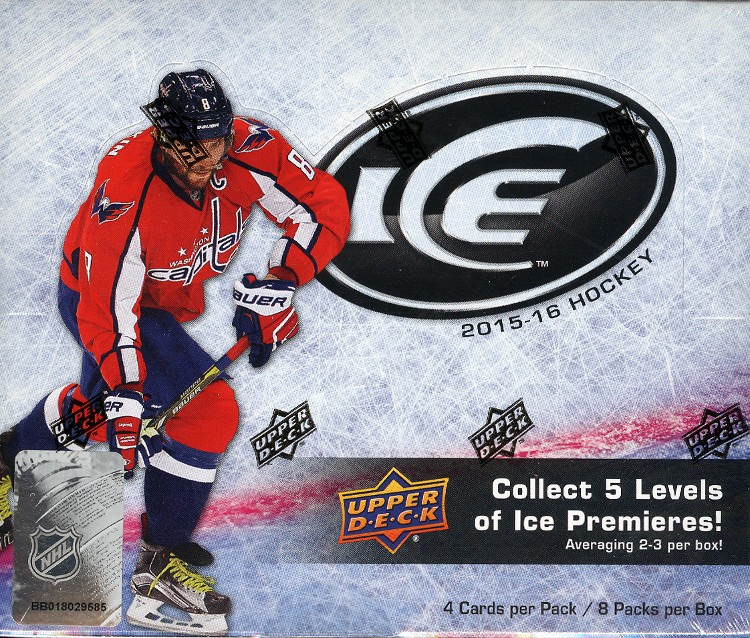 2015/16 Upper Deck ICE Hockey Hobby 16 Box Case