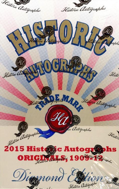 2015 HA Originals (1909-12) Diamond Edition Baseball 5 Box Case