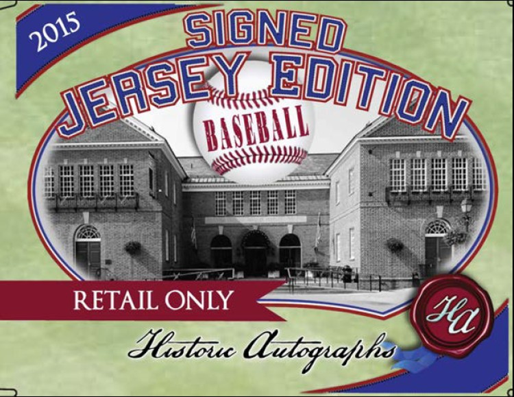 2015 Historic Autographs Baseball Jersey Edition Box