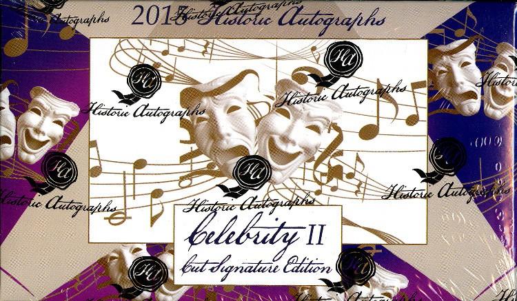 2015 Historic Autographs Celebrity 2  Box