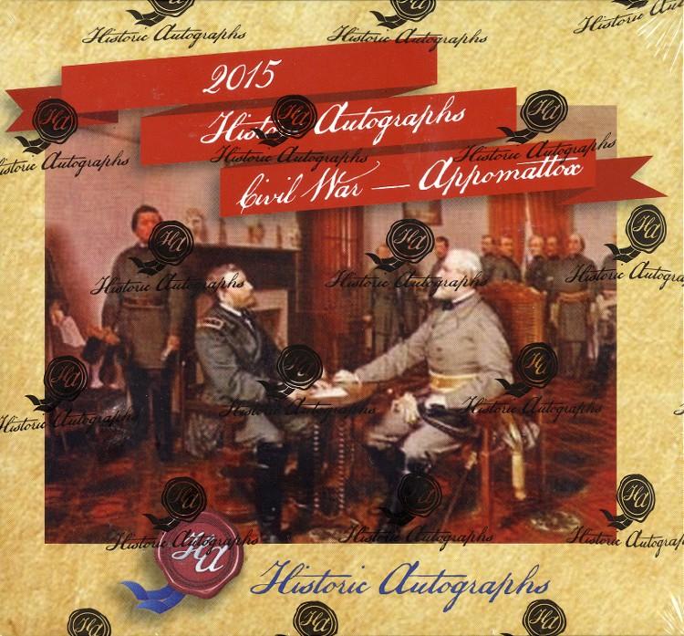2015 Historic Autographs Civil War Appomattox 12 Set Case