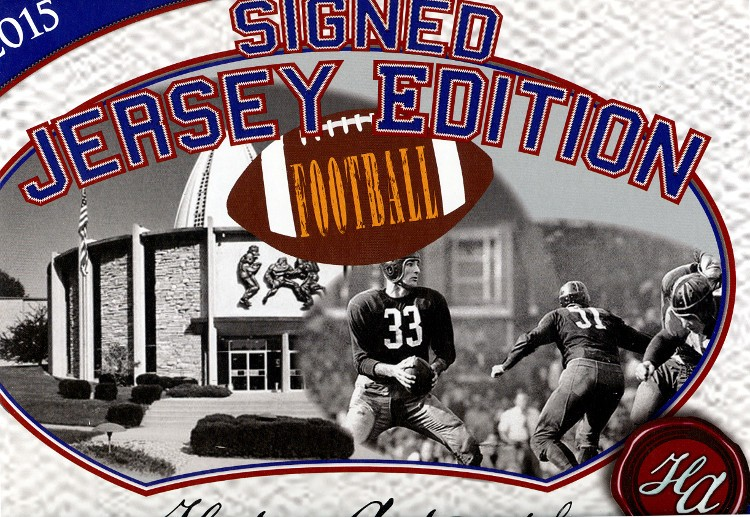 2015 Historic Autographs Football Jersey Edition 12 Box Case
