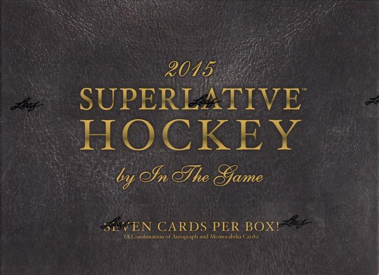 2015 Leaf ITG Superlative Hockey 5 Box Case
