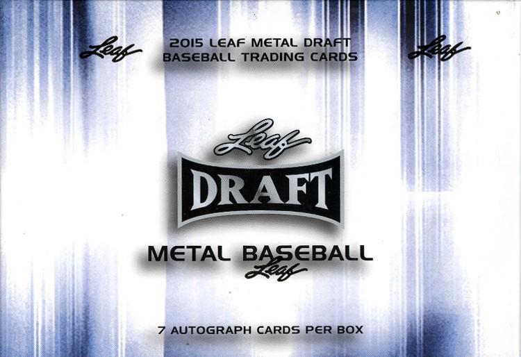 2015 Leaf Metal Draft Baseball Hobby Box