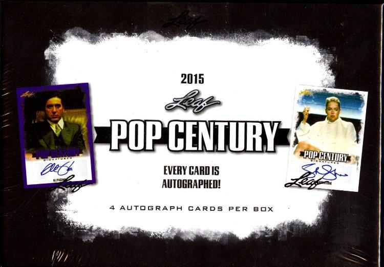 2015 Leaf Pop Century Trading Cards 12 Box Case