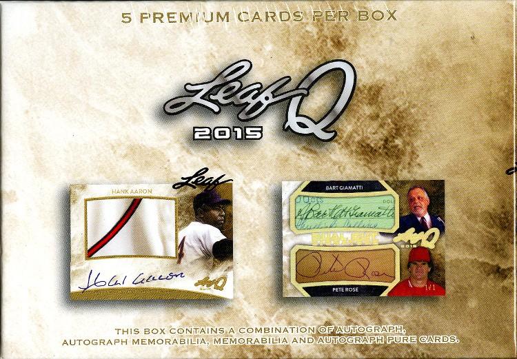 2015 Leaf Q - 4 Box Case