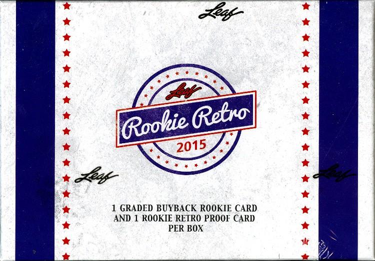 2015 Leaf Rookie Retro 4 Box Case