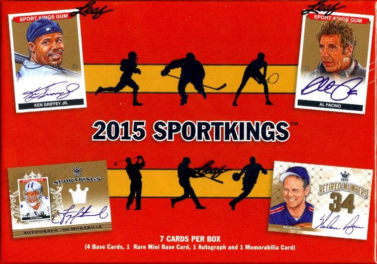 2015 Leaf Sport Kings 12 Box Case